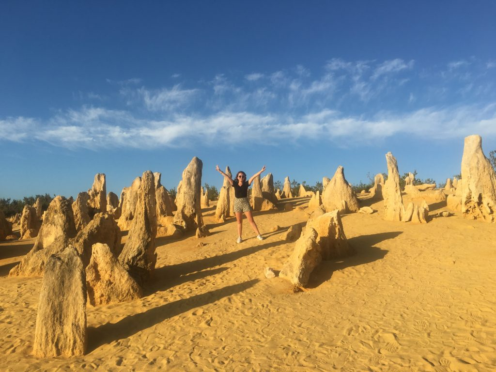 The Pinnacles Desert, Batı Avustralya